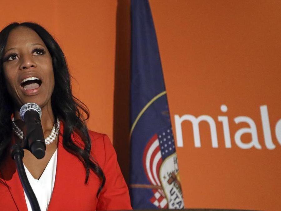 Mia Love, Partito Repubblicano  (AP Photo/Rick Bowmer)