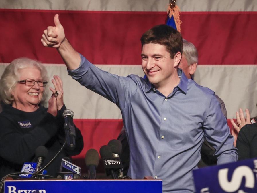 Bryan Steil, Partito Repubblicano  (EPA/TANNEN MAURY)