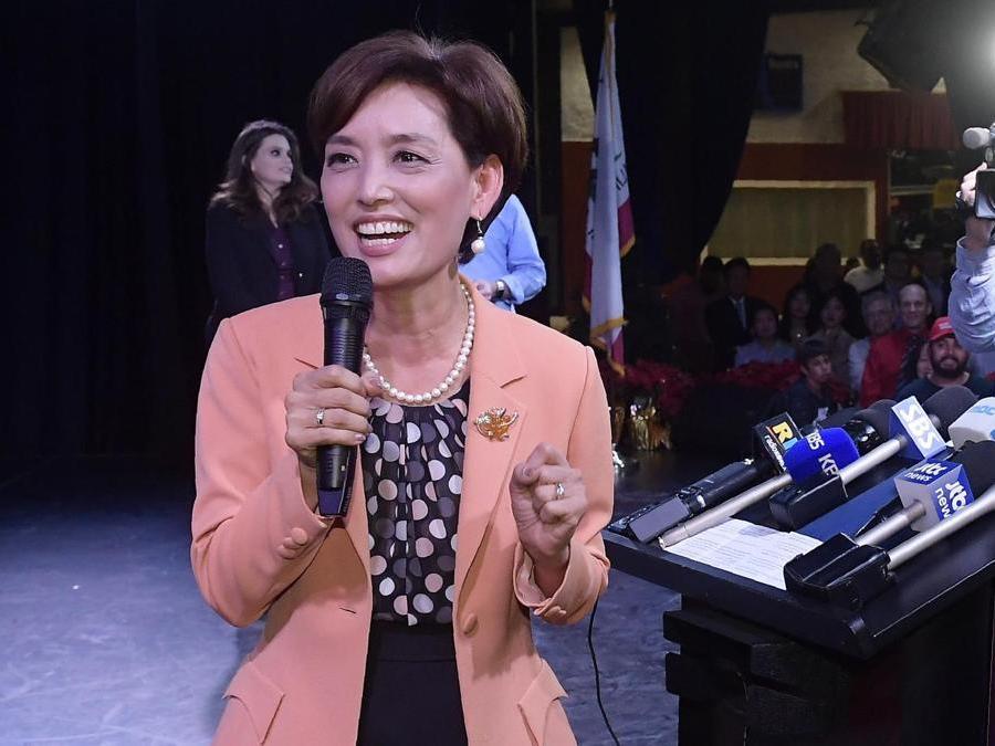 Young Kim, Partito Repubblicano (AP Photo/Mark J. Terrill)