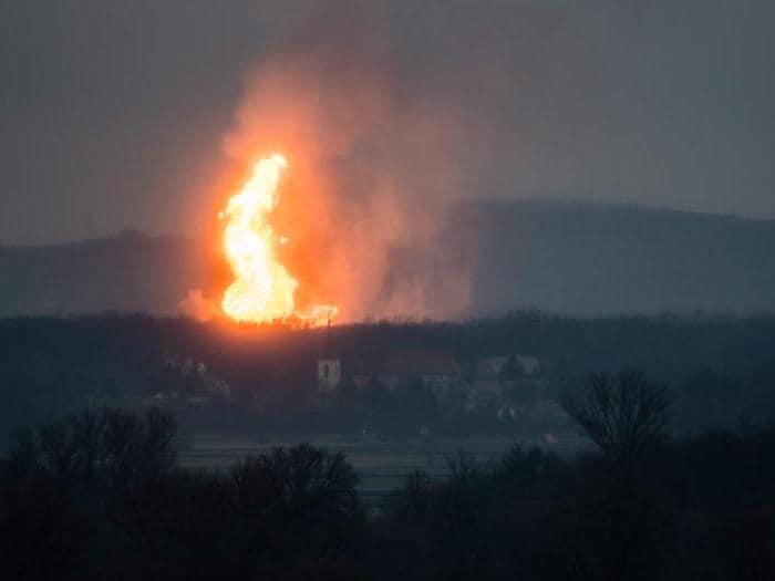Esplosione nell'hub del gas in Austria