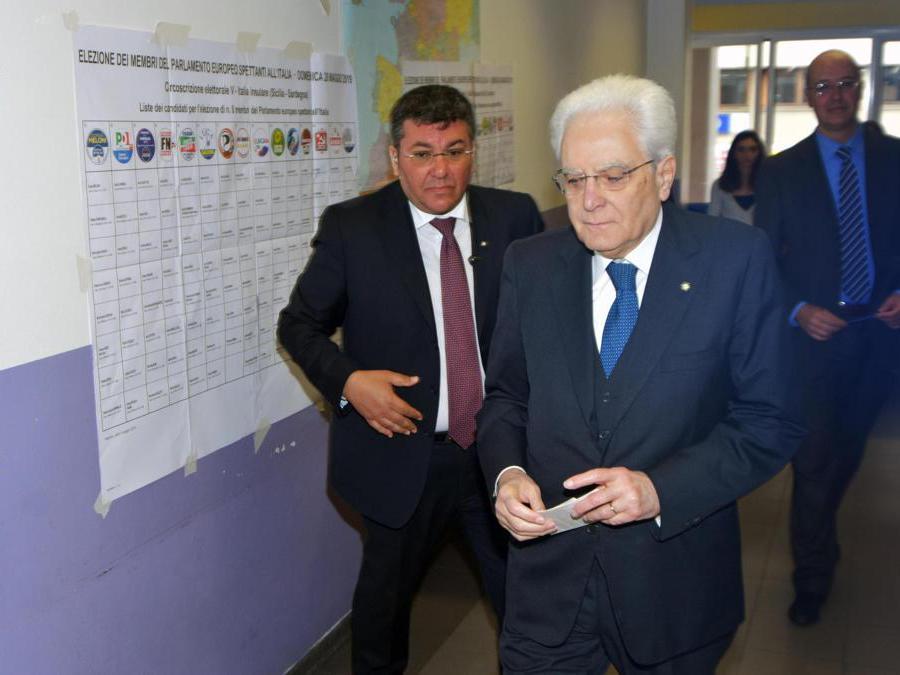 Il Presidente  Sergio Mattarella  (Ansa/MikePalazzotto)