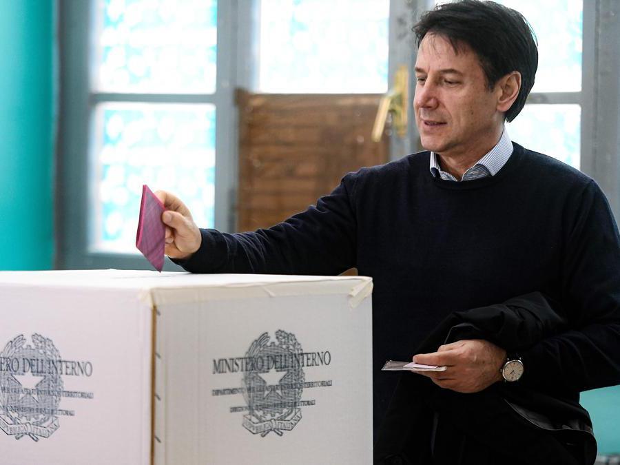 Il Primo Ministro  Antonio Conte (Filippo Monteforte/Afp)