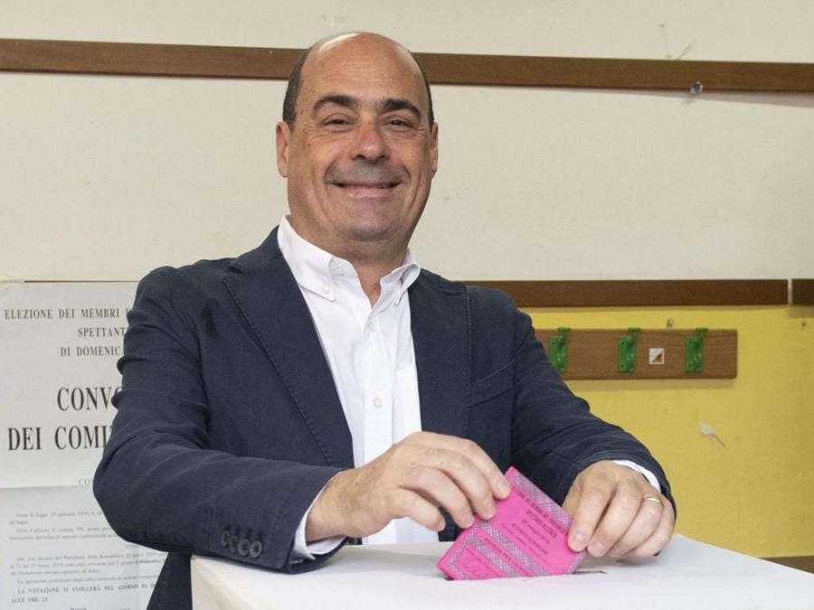 Nicola Zingaretti (Ansa/Maurizio Brambatti)