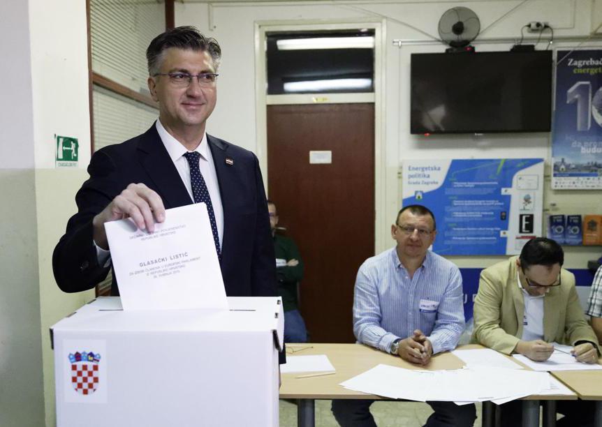 Il primo ministro croato Andrej Plenkovic (Darko Bandi/Ap)