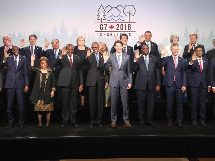 G7, protagonisti e sguardi di un vertice fallimentare