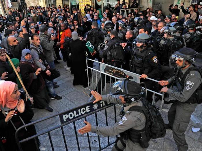 Gerusalemme, le tensioni nella giornata di preghiera e protesta