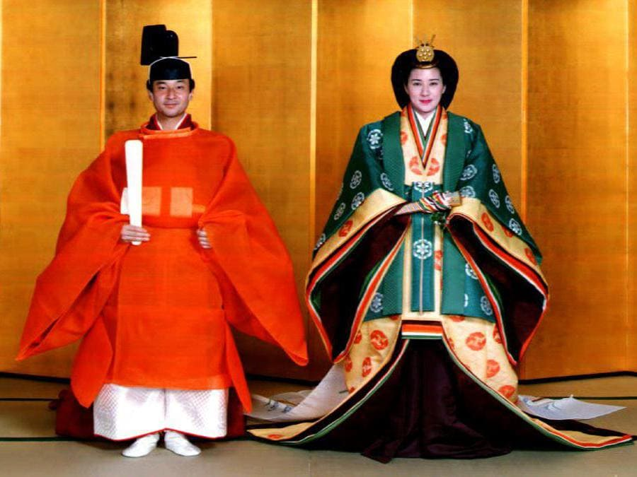 (Photo by Handout / Imperial Household Agency / AFP)