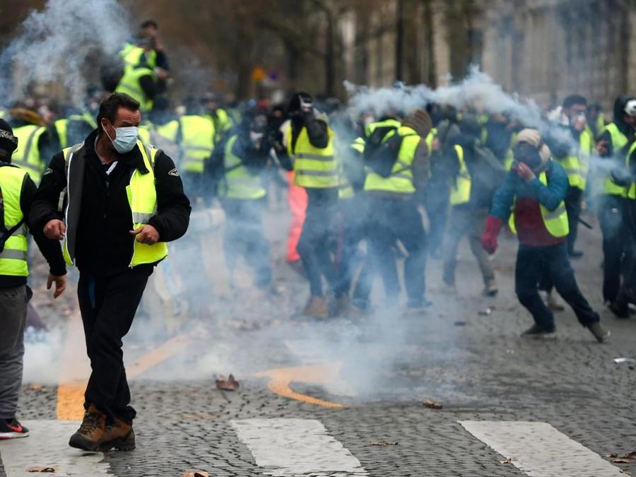 (Photo by Nicolas TUCAT / AFP)