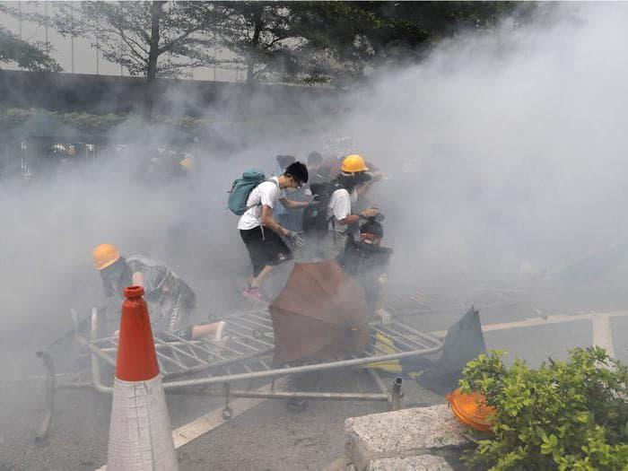Hong Kong, la protesta contro la legge sull'estradizione