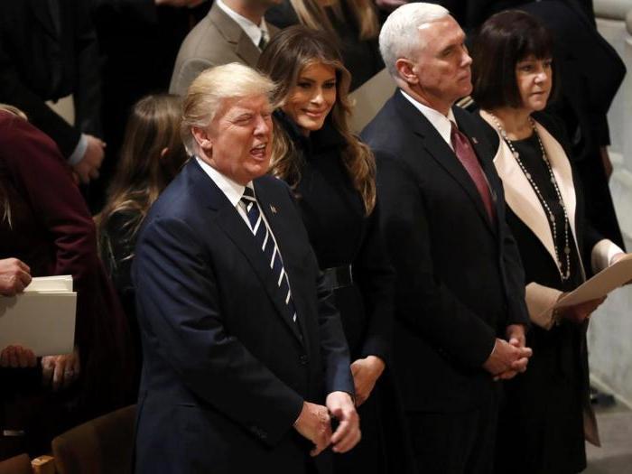 I primi giorni del presidente Trump