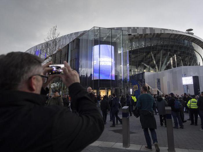 Il nuovo stadio del Tottenham