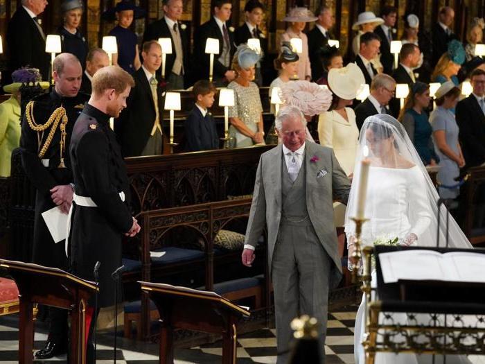 Meghan e Harry all'altare
