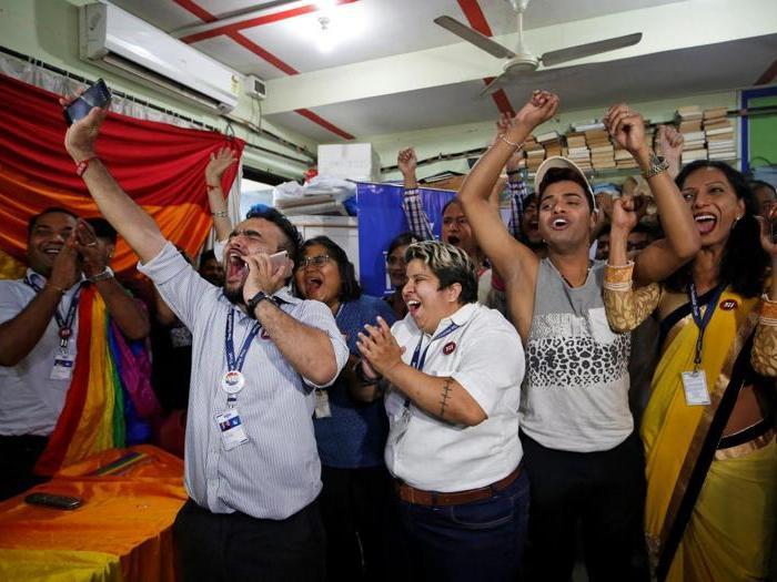 In India essere gay non è più reato