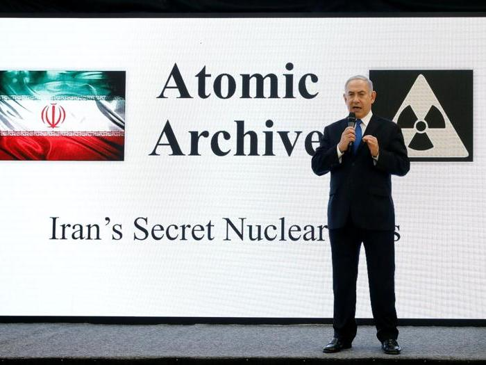 Israele accusa l'Iran: progetta armi nucleari