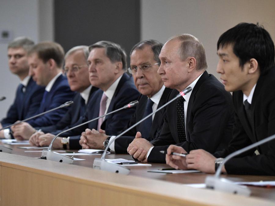 (Photo by Alexey NIKOLSKY / SPUTNIK / AFP)