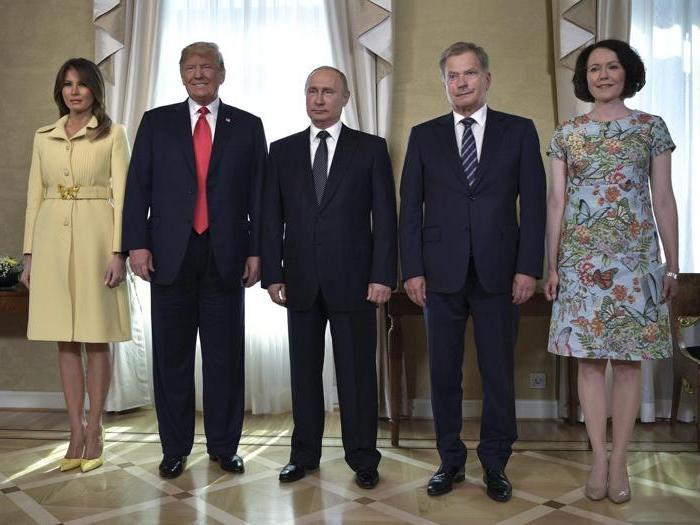 L'incontro Trump-Putin in 10 foto