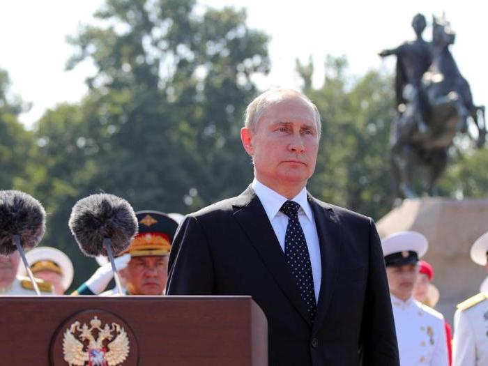 L'orgoglio della marina russa (e di Putin)
