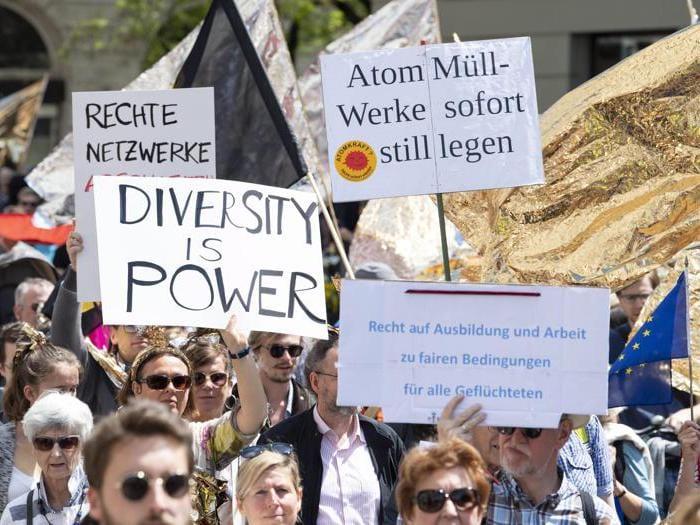 In Germania sfila il popolo dell'Europa