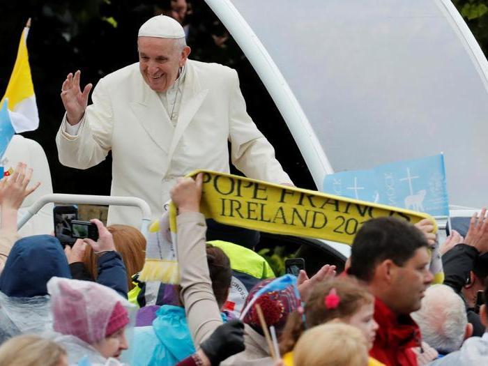 La visita di Papa Francesco in Irlanda