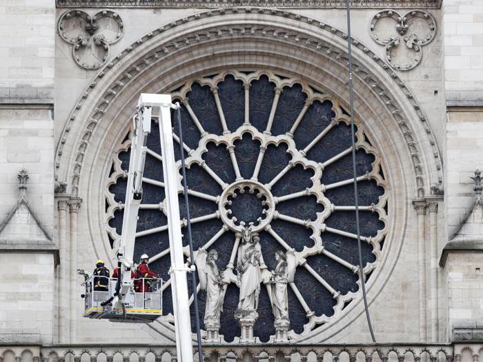 Notre-Dame il giorno dopo