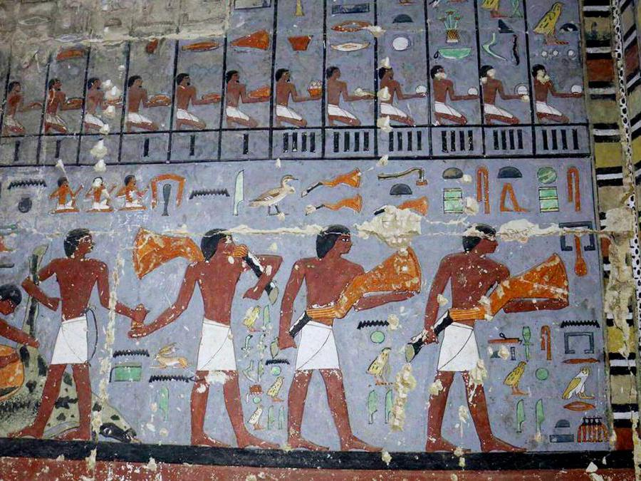 (Egyptian Ministry of Antiquities via AP)