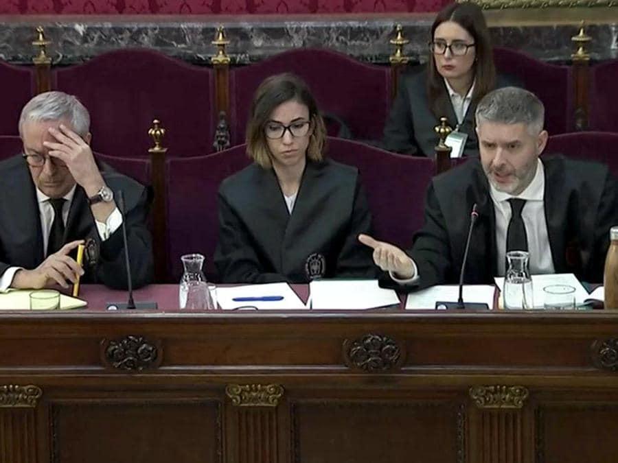 L'avvocato Andreu Van Den Eynde(Reuters)