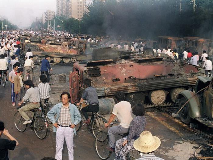 Studenti contro esercito: 30 anni fa la rivolta di Piazza Tienanmen