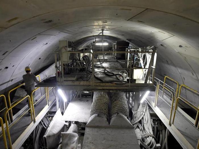 Tav, il reportage dentro al tunnel in costruzione