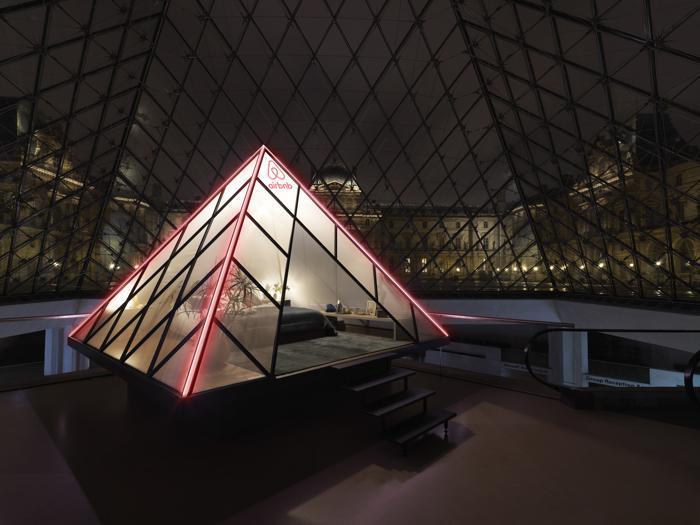 Una notte al Louvre, il concorso di Airbnb