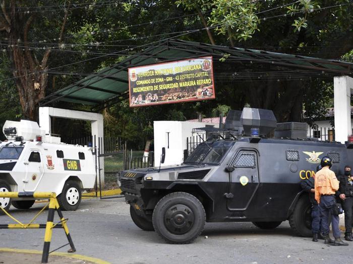 Venezuela, arrestati militari ribelli che volevano rovesciare Maduro