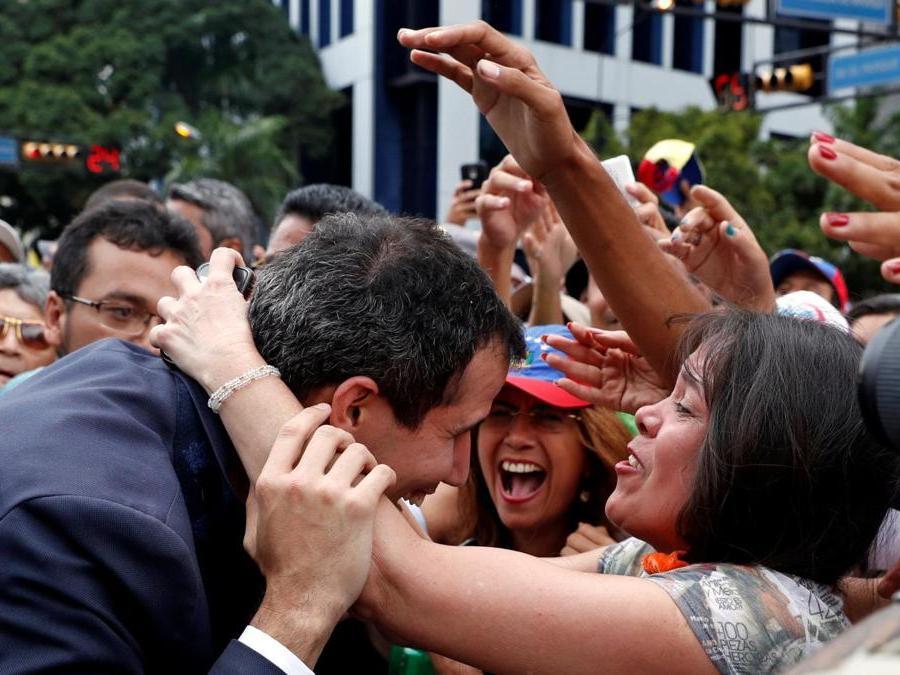 Juan Guaido (REUTERS/Carlos Garcia Rawlins)