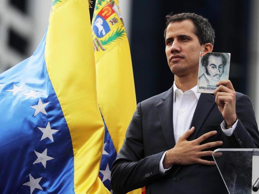 Juan Guaido (EPA/Miguel Gutiérrez)