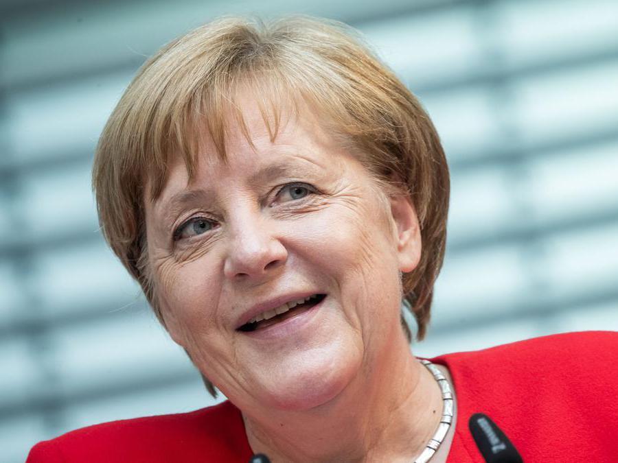 Angela Merkel - CDU(Michael Kappeler/Afp)
