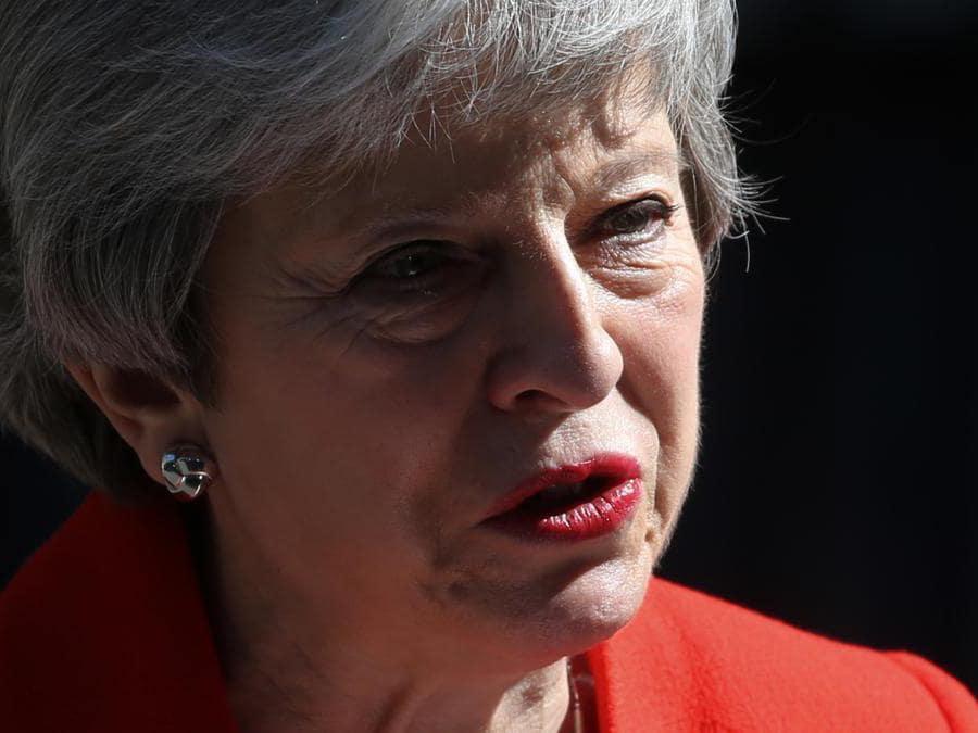 Theresa May - Tory (Isabel Infantes/Afp)