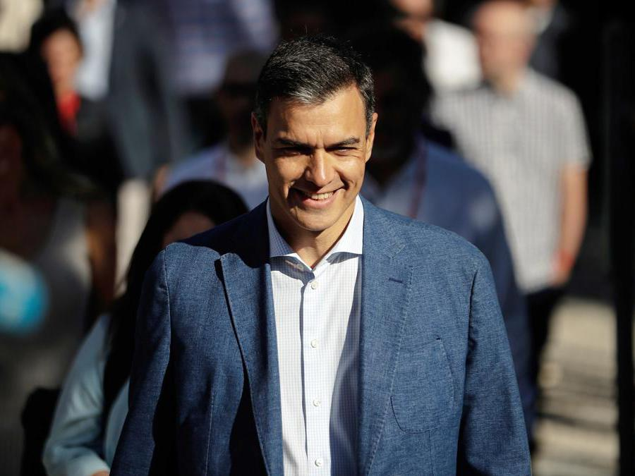 Pedro Sanchez -PSOE (Burak Akbulut/Afp)