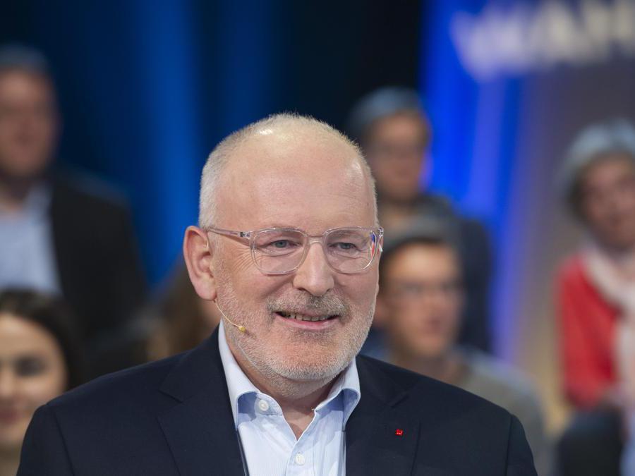 Frans Timmermans -  PES (Afp)