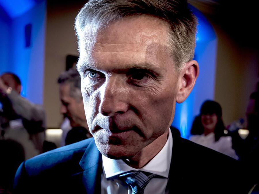 Kristian Thulesen Dahl-  Partito del popolo danese (Mads Claus Rasmussen/Ap)