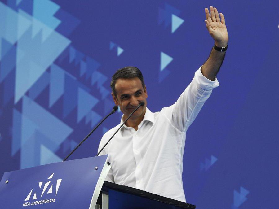 Kyriakos Mitsotakis - Nea Dimokratia  (Alexandros Vlachos/Epa)