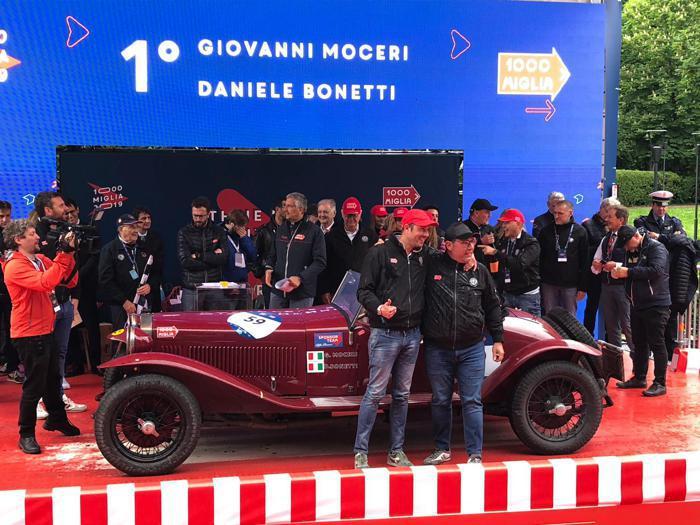 1000 Miglia 2019, l'ultima tappa e la vittoria di Alfa Romeo