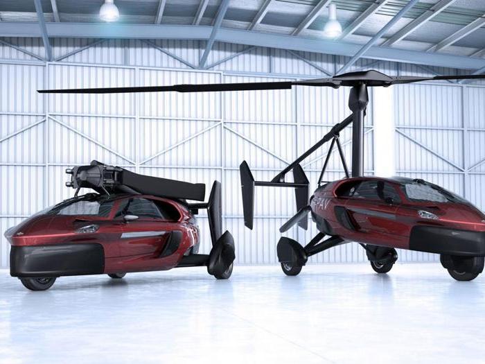 Al Salone di Ginevra debutta anche la prima auto volante al mondo