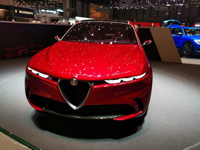Alfa Romeo Tonale, le foto al salone di Ginevra