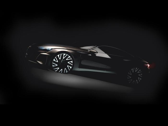 Audi prepara la e-tron GT, la supercar elettrica