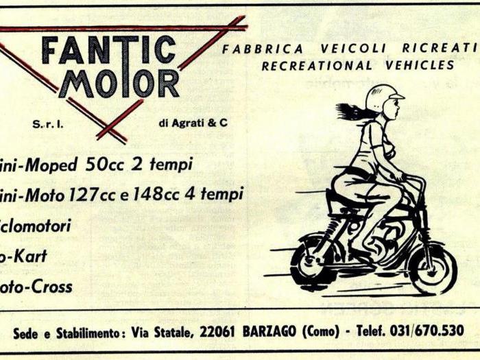 Fantic Motor festeggia 50 anni, I modelli che hanno fatto sognare