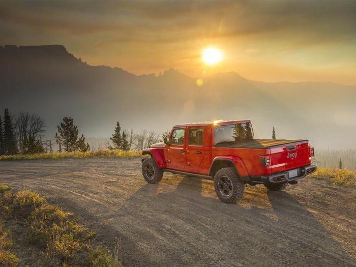 Jeep Gladiator, tutte le foto del nuovo pick-up