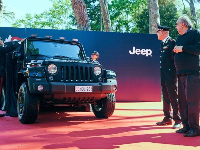 Jeep Wrangler si arruola nei Carabinieri
