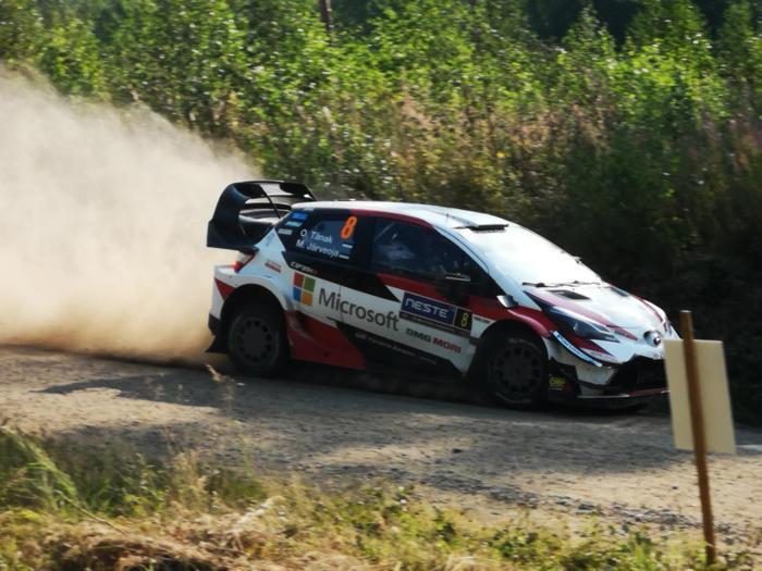 La festa del Rally di Finlandia con le vittorie di Tanak e Toyota