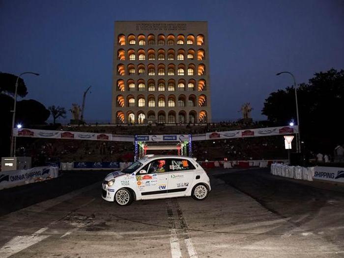Le foto più belle del Rally di Roma Capitale