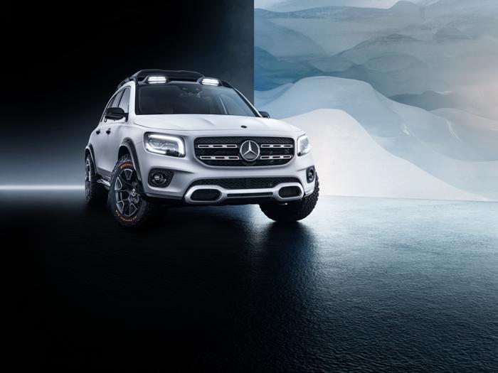 Mercedes GLB, il nuovo suv compatto della Stella