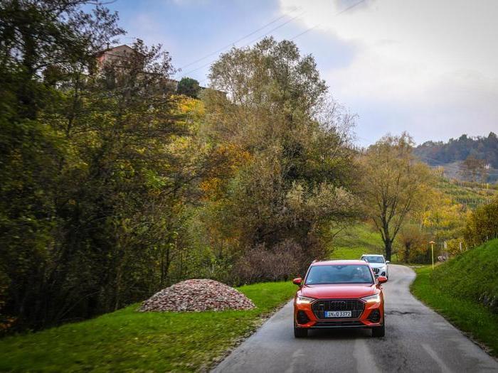 Nuova Audi Q3, le foto in strada il debutto in Italia