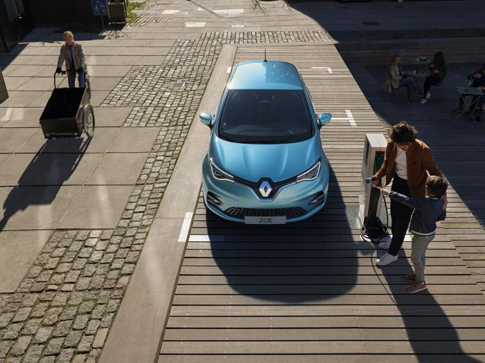 Nuova Renault Zoe, come cambia la piccola elettrica francese